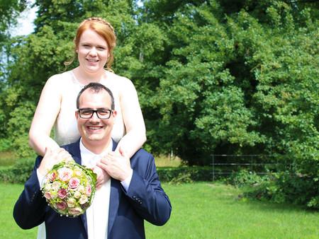 Standesamtliche Trauung von Carina und Fabian in Mühlhausen