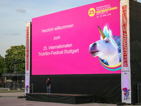 25. Internationales Trickfilm Festival 2018 - Tag 1