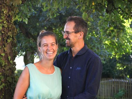 Ludmila und Wolfi: Überraschungsshooting am ersten Hochzeitstag