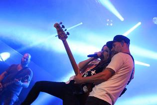 Guano Apes Auftritt Stuttgart.