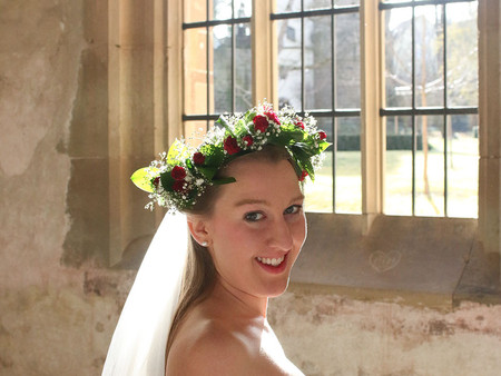 Romantisches Brautschleier-Shooting mit Eva