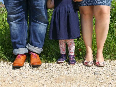 Inge, Benjamin und Claire: Wiedersehen beim Familienshooting in Ehingen