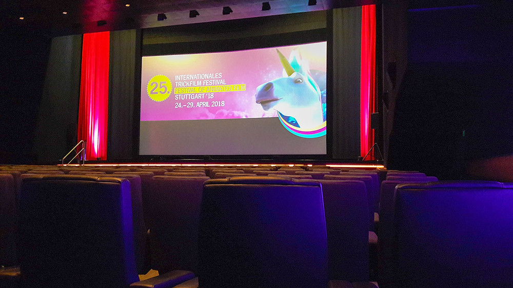 Im Kino beim ITFS 2018.