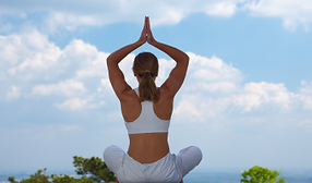Yoga, stretch & breathe, fitness, relaxation, grounding, mindfulness