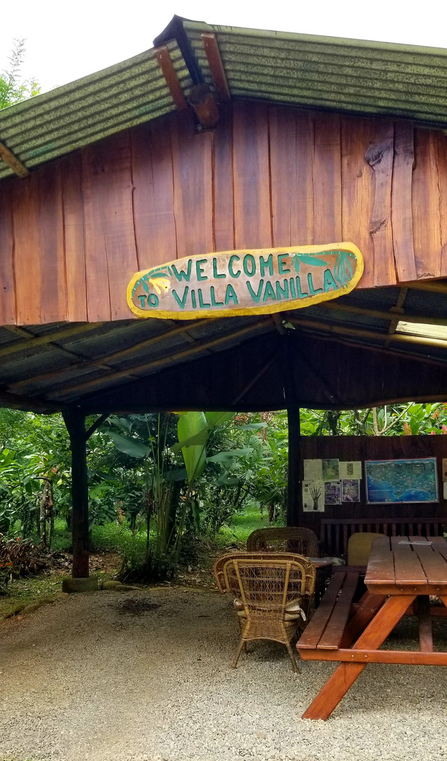 Tour of Villa Vanilla Spice Farm