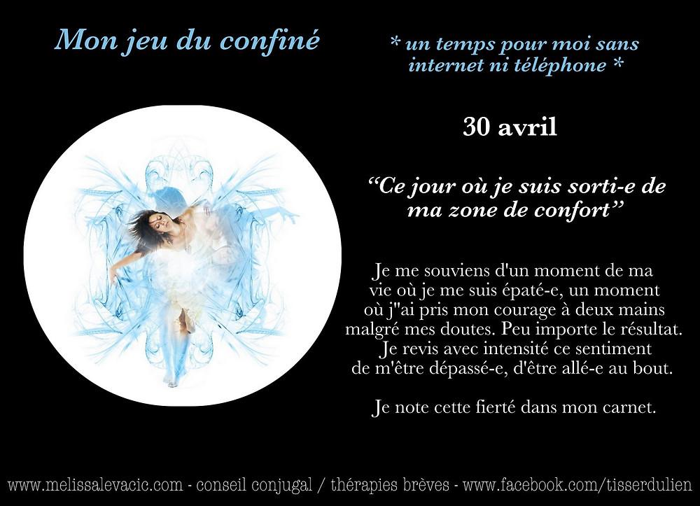 Jeu confinement - Conseil Conjugal - Hypnothérapie - À distance