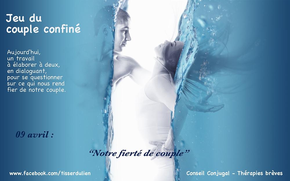 Jeu confinement - Conseil Conjugal - Hypnothérapie