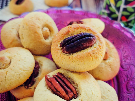 Petits gâteaux à la poudre d'amande et aux fruits secs