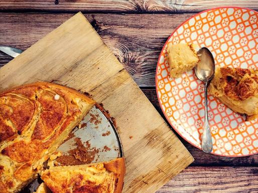 Incroyable gâteau aux pommes qui fond dans la bouche
