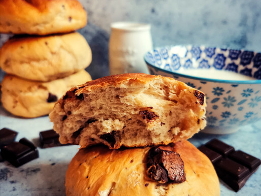 DooWap maison : petits pains au lait aux pépites de chocolat