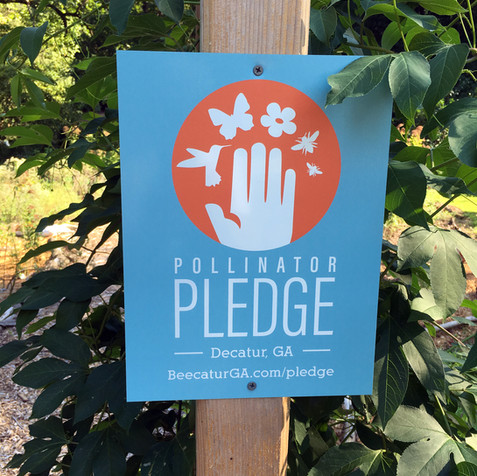 Decatur's Pollinator Pledge