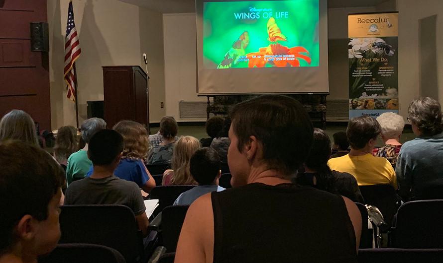 Wings of Life film screening drew a good crowd