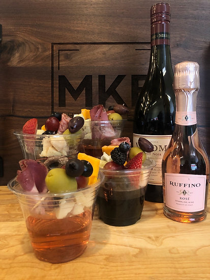 Charcuterie drink toppers