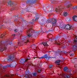Rose Garden. 30x30
