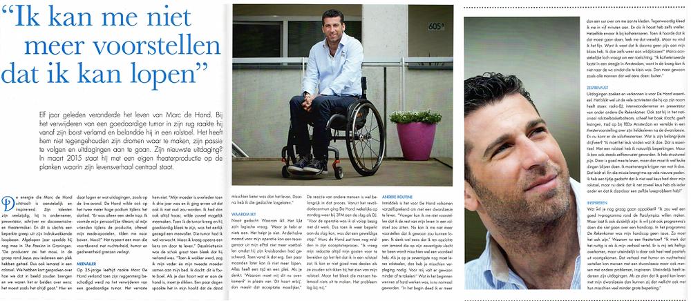 SIM magazine interview Marc de Hond