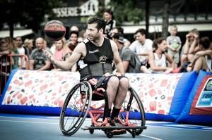 Marc de Hond, rolstoelbasketballer