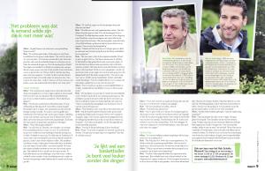 Marc de Hond en Rob Scholte - Beleef Magazine