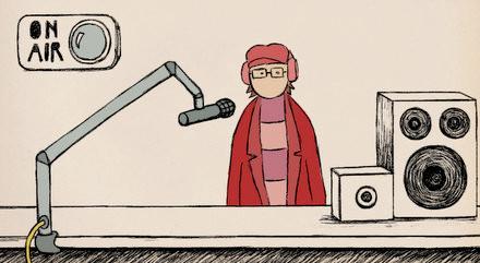 """Animatie uit documentaire 'GIEL - de doorbraakvan een shockjock"""""""