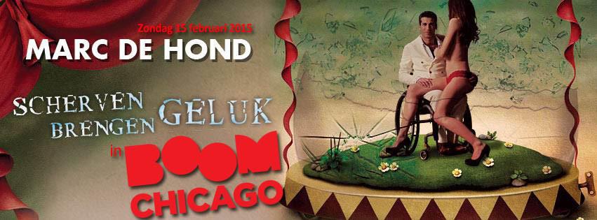 marc de hond in Boom Chicago