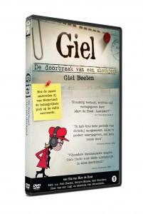 """Cover van de DVD: """"Giel! De doorbraak van een shockjock"""""""