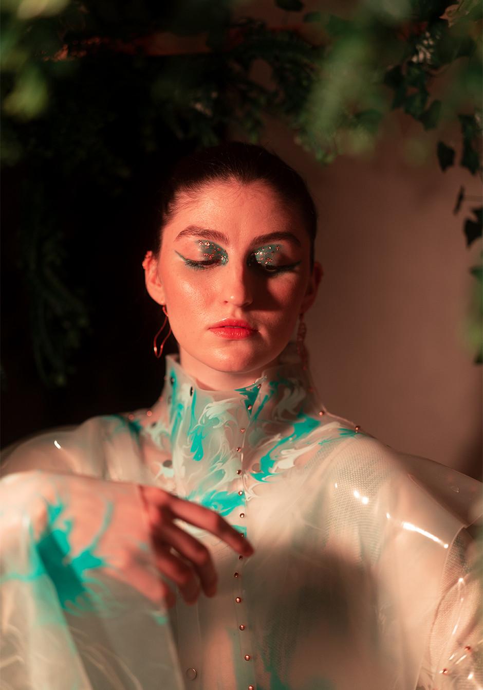 Makeup and Hair: Kat Battershill Designer : Flavius Alexandru Sincaru Photographer: Baturalp Goral Model : Oliwia Kubic