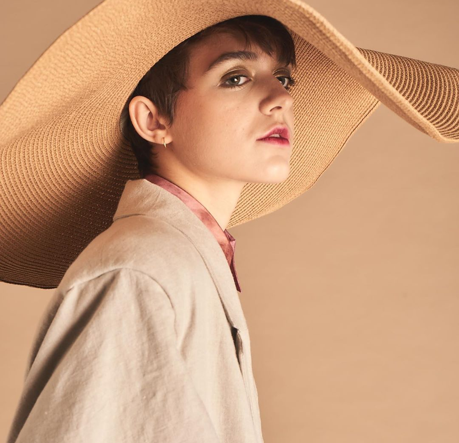 Model : Dulcie ( Milk Model Management. ) Photographer : David James Clark Makeup & Hair artist : Kat Battershill Fashion Designer : Olivia Sherwood