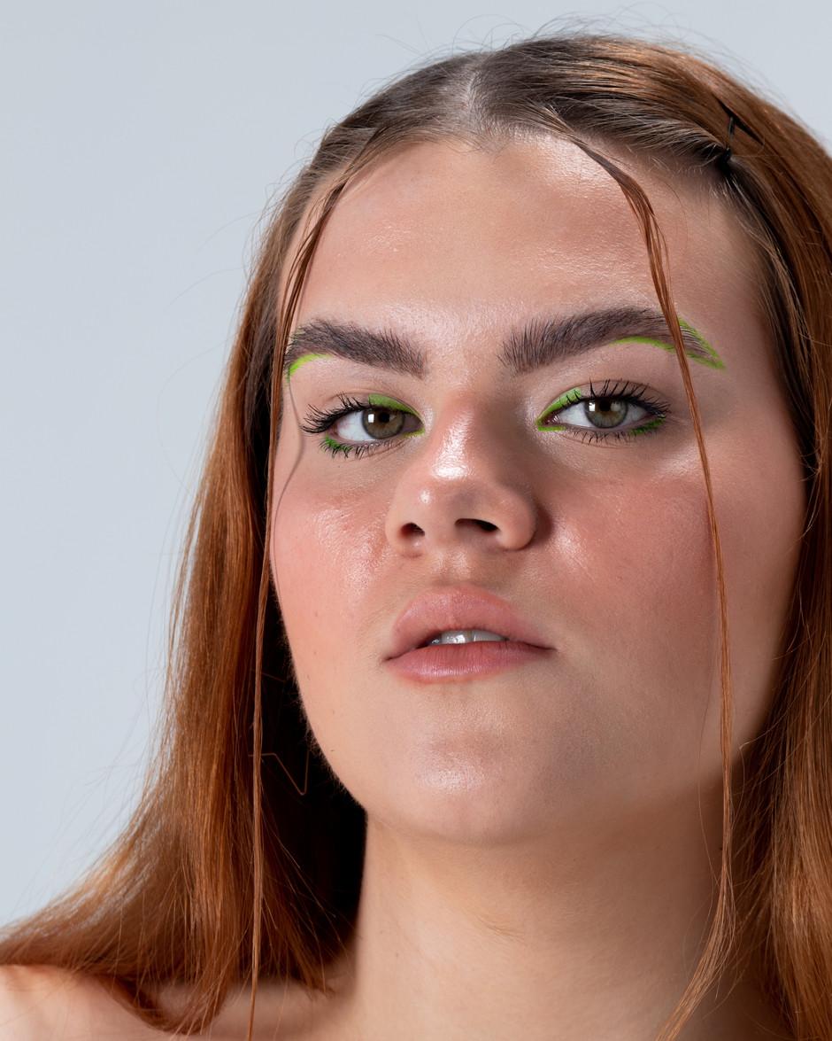 Model : Ella Jane Matthews  Makeup and Hair : Kat Battershill