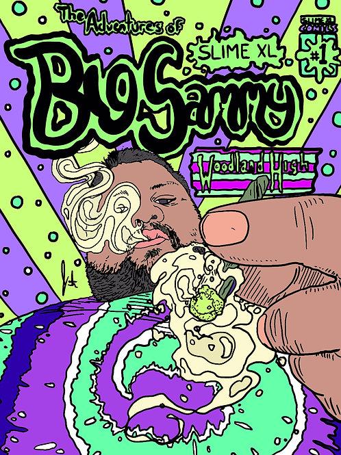Bigsammy Comic Poster Print