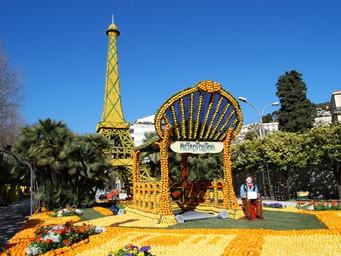 """マントンのレモン祭り """"Fête du Citron"""" が今週土曜日から開催!"""