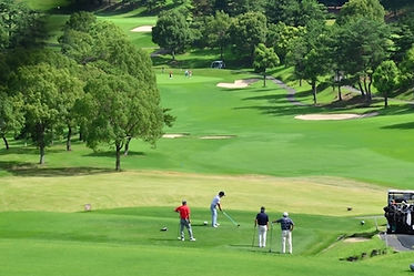 モナコのゴルフ場