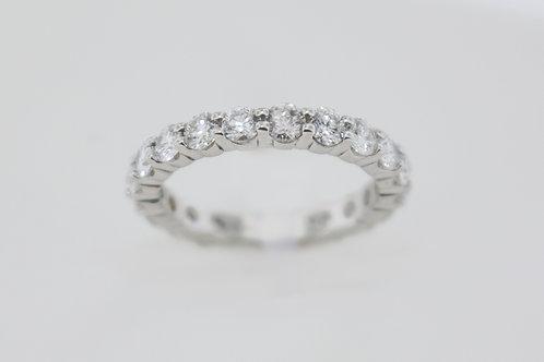 Ladies' diamond eternity ring.