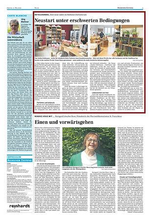 Atelier Edelmann Riehener Zeitung