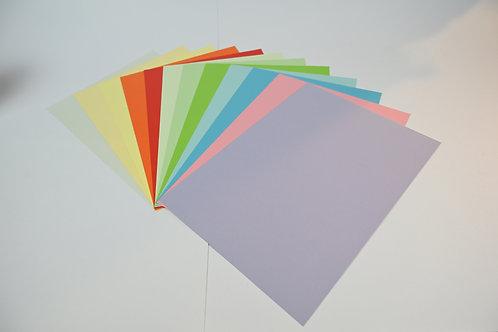 250 Blätter Farbpapier A4