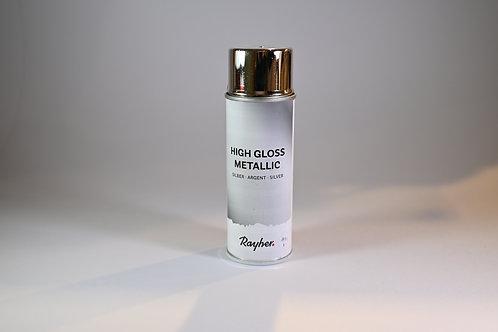 High Gloss Metallic Silber