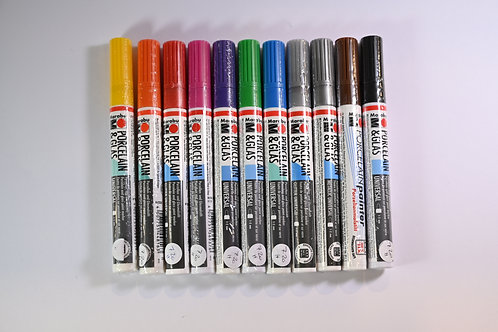 Stifte für Porzellan und Glas