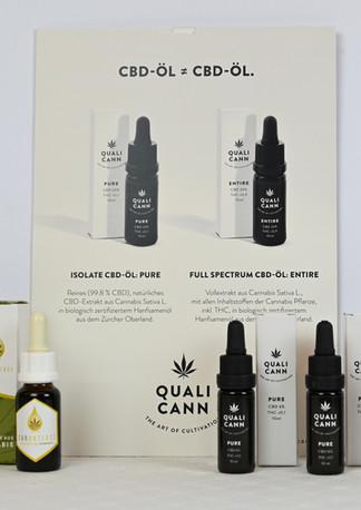 Diverse CBD Produkte