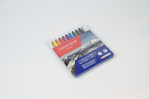 Caran D'Ache 10 Neocolor Watersoluble