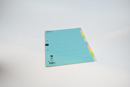 Ordner Register mit Farben