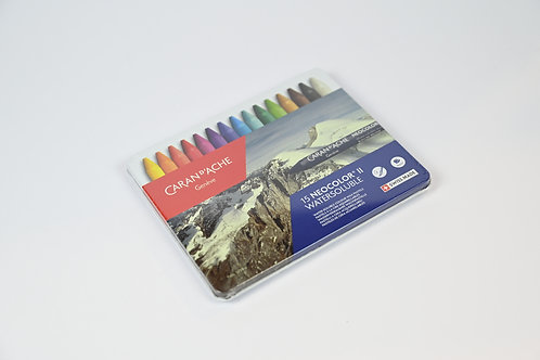 Caran D'Ache 15 Neocolor Watersoluble