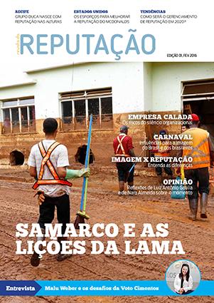 Revista da Reputação 01, FEV 16