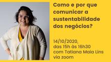 Makemake participou do #diadosnegóciossustentáveis