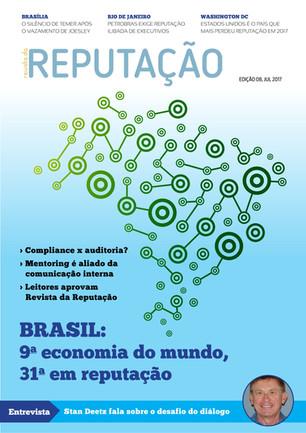 Edição 8 foca na Reputação de países,  compliance e transparência