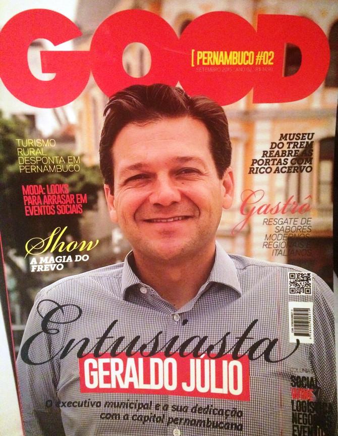 Tatiana Maia Lins na revista Good Pernambuco