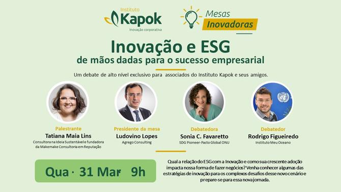 Inovação e ESG para sucesso empresarial