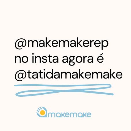Tatiana Maia Lins assume Instagram da Makemake