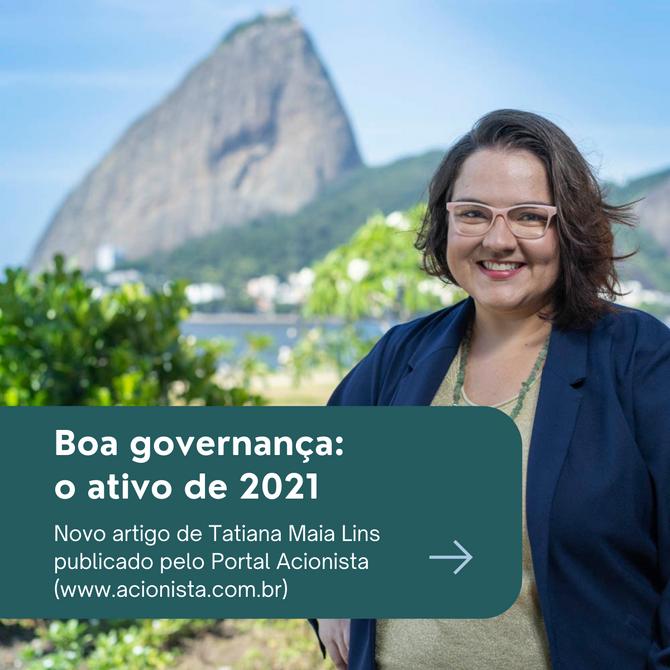 Boa governança: o ativo de 2021
