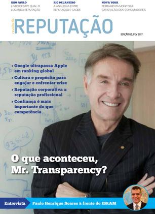 Edição 6 da Revista da Reputação fala sobre a montanha russa da reputação
