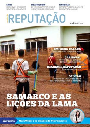 Revista da Reputação, edição 01, fev 2016