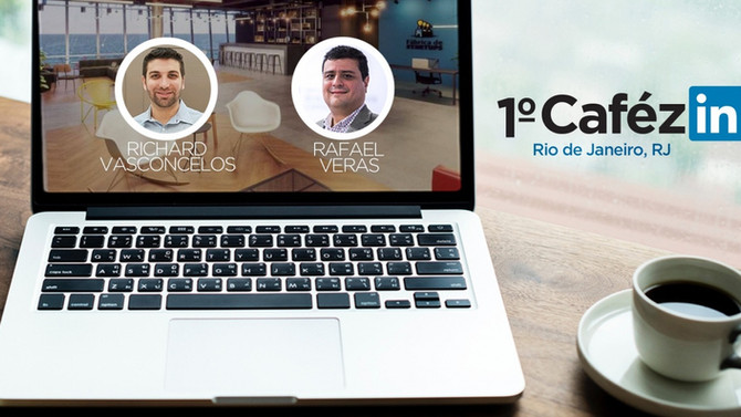 Rafael Veras participa do 1º Cafézin RJ