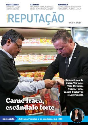 Edição 7 da Revista da Reputação fala sobre Carne Fraca e diversidade